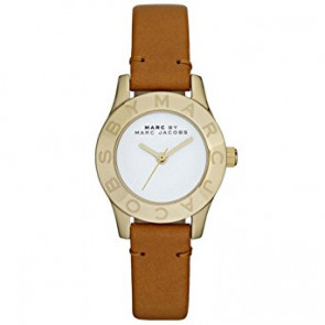 Watch strap Marc by Marc Jacobs MBM1219 Leather Brown