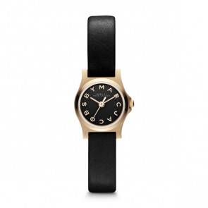 Watch strap Marc by Marc Jacobs MBM1240 Leather Black