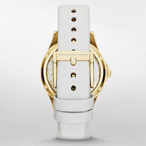 Marc by Marc Jacobs watch strap MBM1339 Leather White 16mm