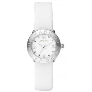 Watch strap Marc by Marc Jacobs MBM8553 Leather White