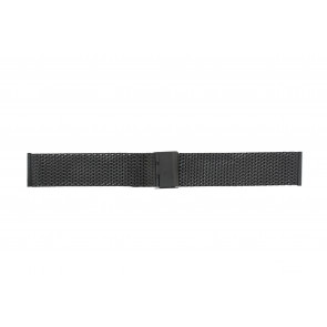 Watch strap Universal 20.3-ST-ZW Milanese Steel 20mm