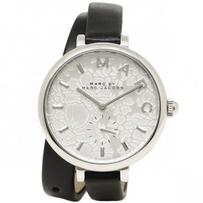 Watch strap Marc by Marc Jacobs MJ1419 Leather Black