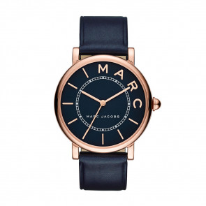Watch strap Marc by Marc Jacobs MJ1534 Leather Blue 18mm