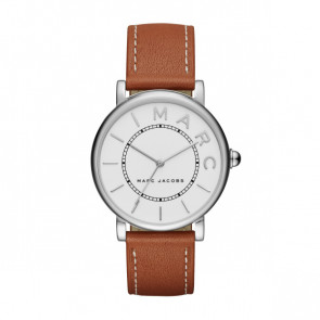 Watch strap Marc by Marc Jacobs MJ1571 Leather Cognac 18mm