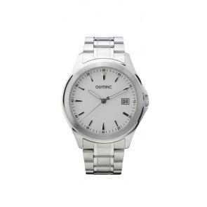 Olympic watch strap OL26HSS240 Metal Silver 20mm