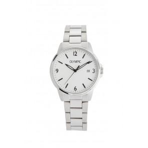 Olympic watch strap OL26HSS280 Metal Silver 18mm