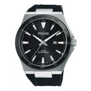 Watch strap Pulsar PH9081X1 / PC32 X087 / PHG048X Rubber Black
