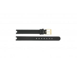 Watch strap Rado R0120435794016 / R070852710 / Coupole Leather Black 10mm