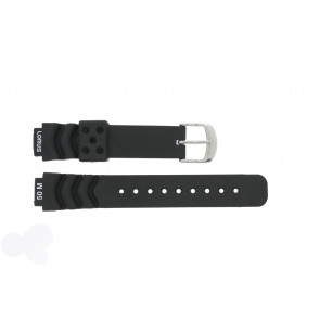Lorus watch strap R2365AX-9 Rubber Black 14mm