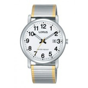 Lorus watch strap RG861CX9 / VJ32 X246 / RHA063X Metal Bi-color 20mm