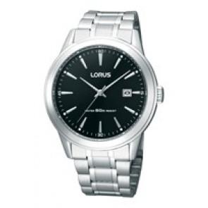 Watch strap Lorus RH995BX9 / PC32 X029 Steel Steel