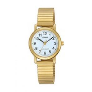 Lorus watch strap RRS78VX9 / V501 X471 / RHN147X Metal Gold plated 13mm