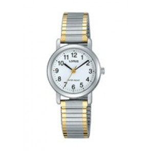 Watch strap Lorus V501-X471-RRS79VX9 Steel Bi-color