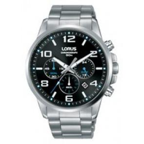 Watch strap Lorus VD53-X317-RT391GX9 Steel Steel