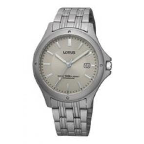 Watch strap Lorus VX32-X384-RXD75EX9 Titanium 18mm