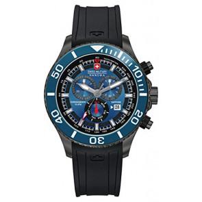 Watch strap Swiss Military Hanowa 06-4226.30.003-SM34223AEU Rubber Black 22mm