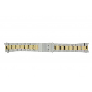 Prisma watch strap STBI22 Metal Bi-color 22mm