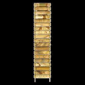Watch strap Tissot T608014383 / T608.R151917 Ceramics Brown