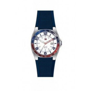 Watch strap Tommy Hilfiger TH1790885 Rubber Blue