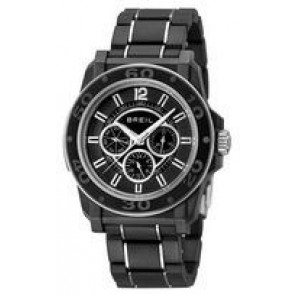 Watch strap Breil TW0844 Steel Black