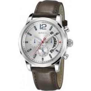 Watch strap Breil TW1372 Leather Brown