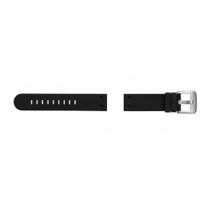 TW Steel watch strap TW581 Rubber Black 24mm