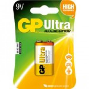 GP Battery Ultra Alkaline 6LR61 - 9v