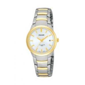 Watch strap Pulsar PH7128X1-VJ22 X062 Steel Bi-color