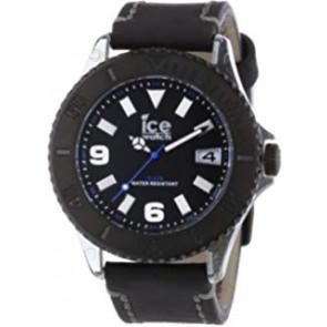 Watch strap Ice Watch VTBKB.B.L.13 / VTBK.BB.L.13 Leather Black 22mm