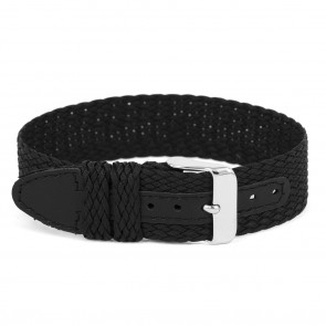 Watch strap Universal WC26 Nylon/perlon Black 12mm