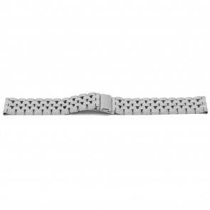 Watch strap YJ27 Metal Silver 26mm