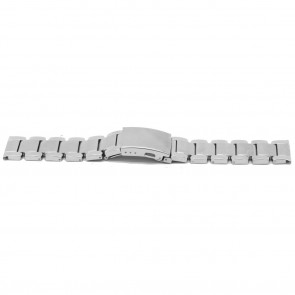 Watch strap YJ35 Metal Silver 26mm