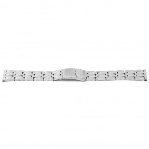Watch strap YJ41 Metal Silver 26mm