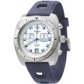 Watch strap Zodiac ZO2242 Rubber Blue