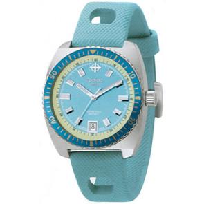 Watch strap Zodiac zo2251 Rubber Blue