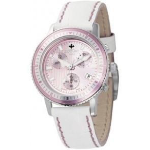Watch strap Zodiac ZO2810 Leather White