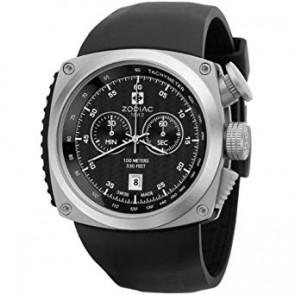 Watch strap Zodiac ZO5800 Silicone Black
