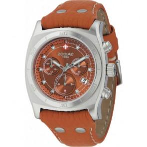 Watch strap Zodiac ZO7010 Leather Light brown