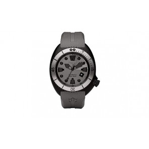 Watch strap Zodiac ZO8009 Rubber Grey