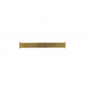 Morellato watch strap A02U01560020220099 Steel Gold (Doublé) 22mm
