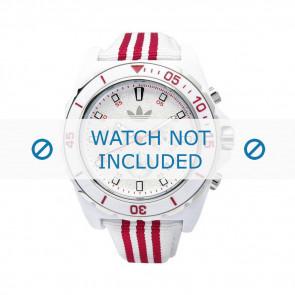 Adidas watch strap ADH2666 Silicone White 24mm