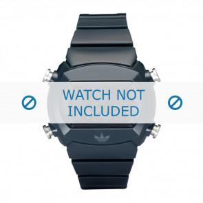 Adidas watch strap ADH6065 Silicone Blue 22mm
