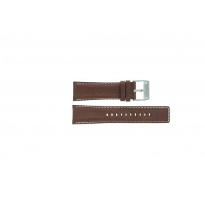 Fossil watch strap AM-3891 Leather Brown 25mm