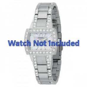 Watch strap Fossil AM4131 Steel Steel 8mm
