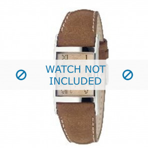 Armani watch strap AR0251 Leather Brown 22mm