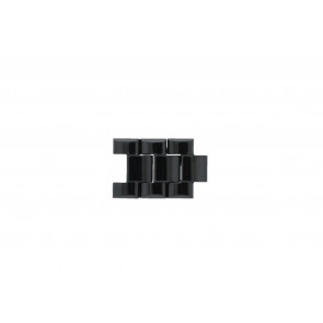 Armani AR-1400 / AR-1410 Links Ceramics Black 22mm