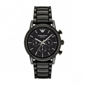 Watch strap Armani AR1507 Ceramics Black