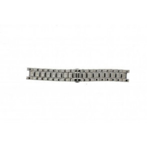 Armani watch strap AR-0145 Steel Silver 22mm