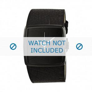 Armani watch strap AX-6002 Leather Black 35mm