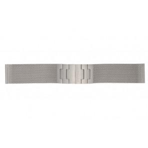 Mondaine watch strap BM20031 / 12622.ST.2 Metal Silver 22mm